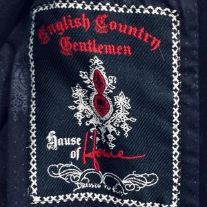 House of Howe English Country Gentleman Blk Jacket